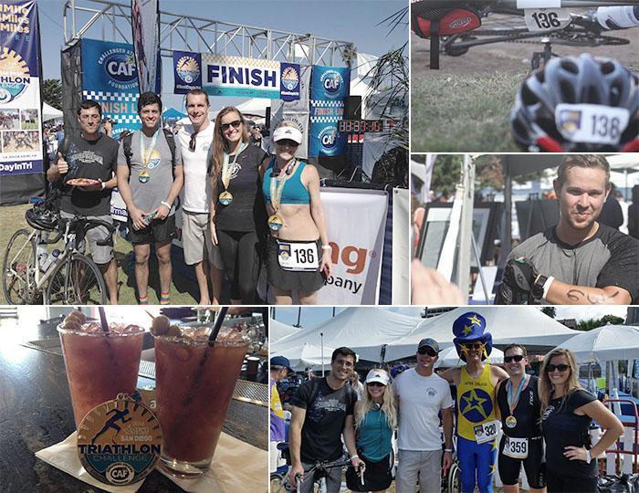 Cuker Participates In CAF Triathlon Challenge