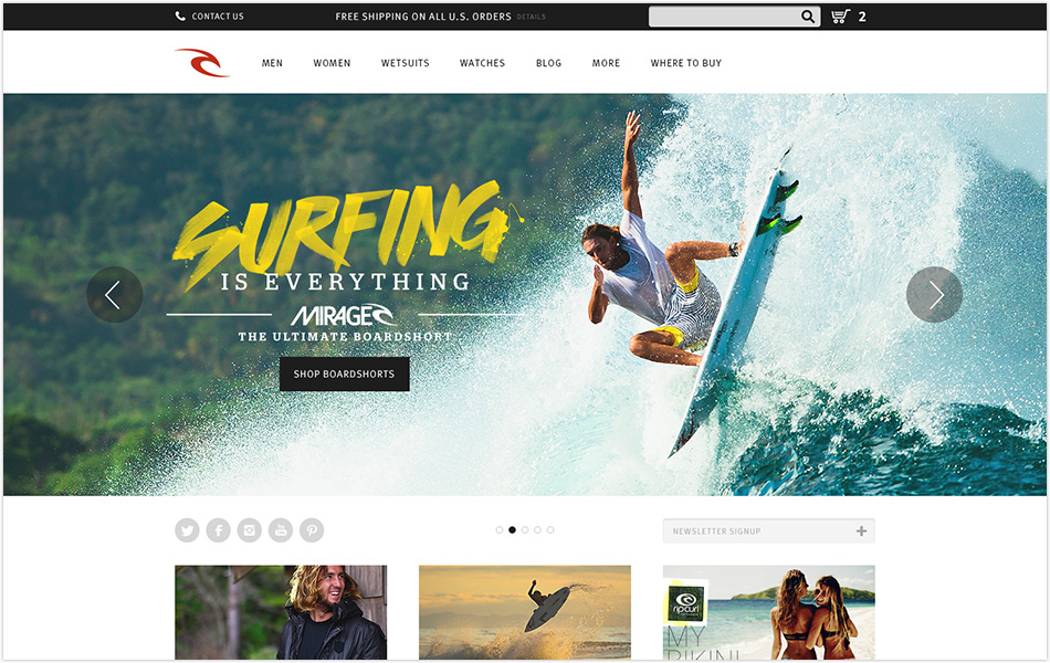 Rip Curl Digital Marketing | Cuker Work